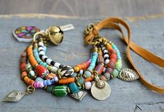 @Regrann from @bead.stone.n.skin - #hippy #boho #bohemian #bracelet #ethnic #kuchi #gypsy #gypsystyle #jewellery #jewelry #joyas #handmade #fashion #tribal #Regrann