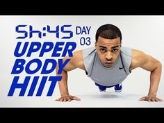 45. Min. Upper Body Cardio HIIT Arms Workout | Sweat HIIT 45 Day 03 - YouTube