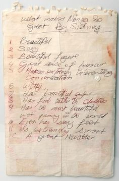 """What Makes Nancy So Great"" by Sid Vicious.   Written several months before Nancy was found stabbed to death."