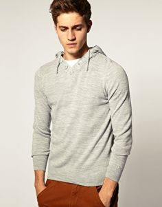 I used to have a sweater like this.  I like the skinny forearms.