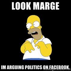 diesel generator mechanic Look marge! i'm a diesel mechanic - Homer retard Politics On Facebook, Facebook Humor, Earth Memes, Haha, Funny Memes, Hilarious, Drug Memes, Funny Rude, Funny Quotes