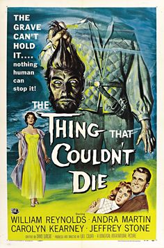The Thing That Couldn't Die Framed Vintage Horror Movie Poster Wall Art — MUSEUM OUTLETS