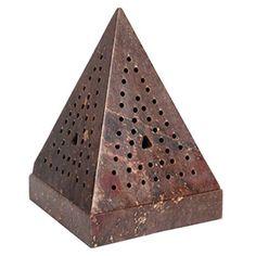 """Aromatherapy Hosley® 5"""" High Large Soapstone Triangle Pyr... https://www.amazon.com/dp/B00P6VR042/ref=cm_sw_r_pi_dp_x_eCJqyb0KDW1XW"""