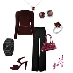 Garnet, created by anglssftwhisper on Polyvore