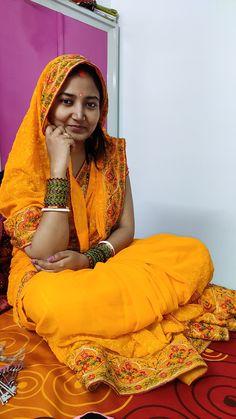 Thread Work, Saree Collection, Beautiful Women, Sari, Yellow, Color, Fashion, Saree, Moda