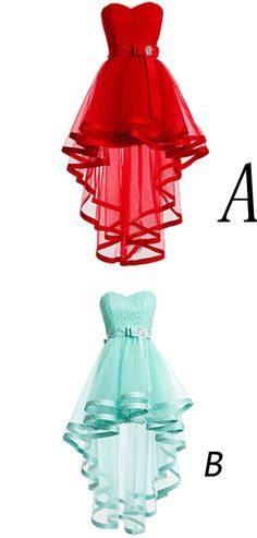 High Low Homecoming Dresses,Mint Homecoming Gowns,Sweet 16 Dress,Plus Size Evening Dresses For Teens,Short/Mini Prom Dresses,Homecoming Dress,HG89