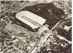 Το Παναθηναικο Σταδιο και ο Ιλισσος απο ψηλα 1931