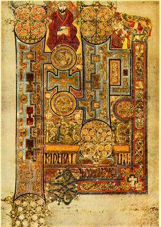 christian art | Books of kells john intro