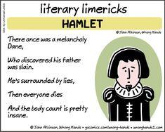 Literary Limericks – Hamlet - Writers Write