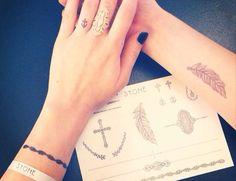 STONE tattoo @ Colette Paris