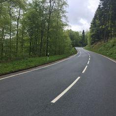 Climbing roads @ Harz