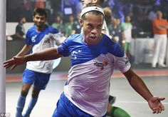 The 36-year-old scored five goals for Goa in India Premier Futsal on Sunday, including an ...