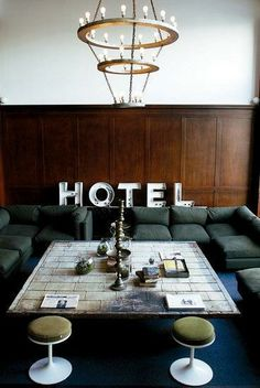 Portland | Ace Hotel • 1022 SW Stark St – I've always wanted to check out this place! / Ace Hotel
