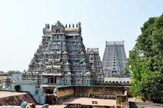 Jambukeswarar Temple Tiruchirappalli , famous shiva temples in india Srikalahasti Temple, Temple India, Indian Temple, Hindu Temple, Temple Architecture, South India, Lord Shiva, Incredible India, Deities
