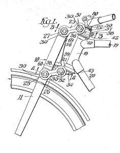 Upper section of girder fork
