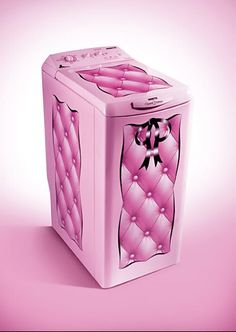Limited Edition Chantal Thomass washing machine (released in 2007)