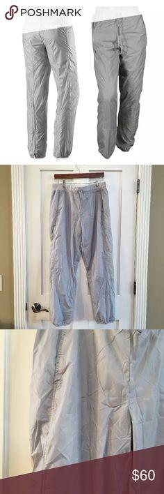 """Stella McCartney Adidas Gray Jogger Sweat Pants 29"""" Inseam 10"""" Rise 30"""" Waist  100% Polyamide Adidas by Stella McCartney Pants Track Pants & Joggers"""