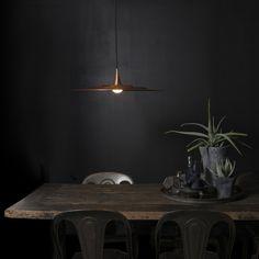 Lampa wisząca Drip 40 miedź