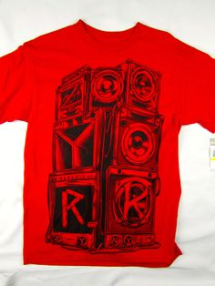Zoo York NYC skate short sleeve t shirt men's red size MEDIUM #ZooYork #GraphicTee
