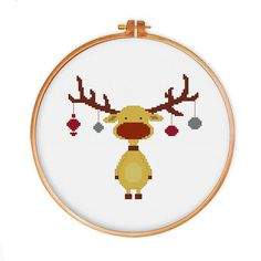 Retro Reindeer cross stitch pattern vintage cross stitch pattern christmas cross stitch pattern funny cross stitch pattern funny pattern vintage cross stitch counted cross stitch cross stitch pattern cross stitch design reindeer pattern christmas pattern funny cross stitch modern cross stitch retro cross stitch reindeer design vintage design modern pattern cute cross stitch 3.50 USD #goriani