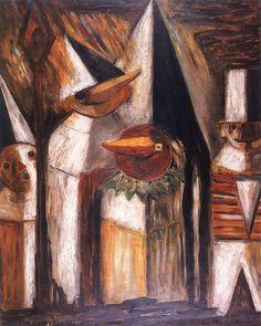 Tadeusz Makowski - Maskarada, 1929