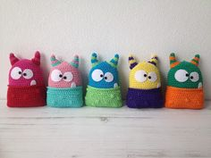 Monsters - Free pattern