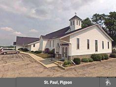 St. Paul Lutheran Church in Pigeon (Linkville), Michigan #LCMS