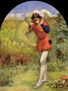 Millais, John Everett | Ferdinand Lured by Ariel