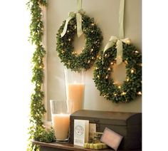 Christmas Wreaths | There is no Advent without Christmas wreaths. They usually land on our ...