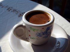 "Greek coffee (""Ellinikos Kafes"") is one of the simplest ways to make coffee."