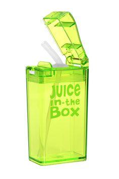 Goodbye juicebox. Hello reusable, smart alternative!