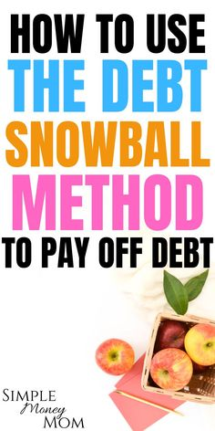 With the debt snowball method, you pay of the lowest balance first. Debt Snowball Spreadsheet, Debt Snowball Worksheet, Best Money Saving Tips, Money Tips, Saving Money, Dave Ramsey Debt Snowball, Debt Free Living, Paying Off Student Loans, Paying Off Credit Cards