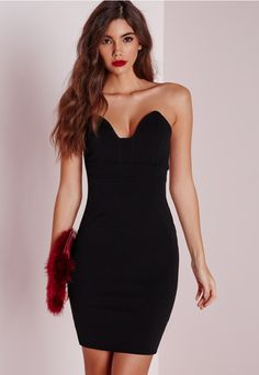 We all love a little black dress and this one is super sexy. With sweet  heart sleeveless neck in a figure flattering all black fabric this one is  hot ... b1505acd5