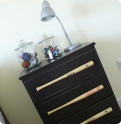 Baseball Bat Dresser!