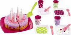 Ecoiffier Τούρτα Γενεθλίων με Κεράκια Bubble, Ice Tray, Decor, Toys, Gaming, Decoration, Decorating, Deco