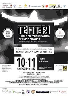Claudia Grohovaz: Tefteri, il libro dei conti in sospeso - Al Teatro...