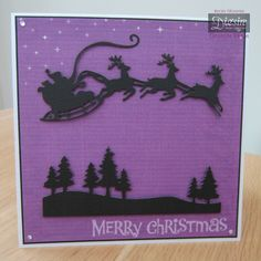 Crafters Companion Classique Christmas Dies Quick Card