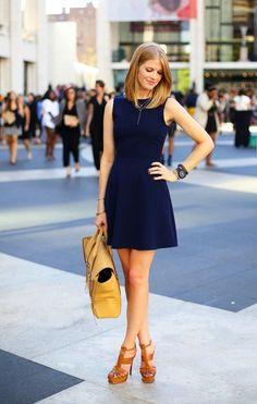 Pics of blue dresses zara Fashion Mode, Look Fashion, Fashion Outfits, Womens Fashion, Lifestyle Fashion, Fashion News, Little Dresses, Nice Dresses, Looks Style