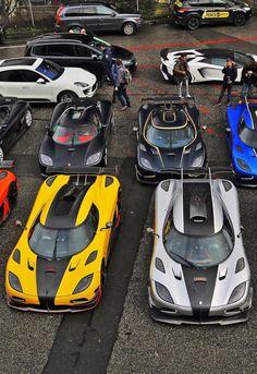 Exotic cars most expensive supercars 00008 - YS Edu Sky New Sports Cars, Exotic Sports Cars, Sport Cars, Exotic Cars, Most Expensive Supercars, Expensive Cars, Koenigsegg, Carros Lamborghini, Ferrari Laferrari