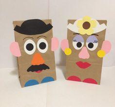 Mr Potato Head  Mrs Potato Head birthday party/treat bags