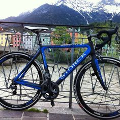 awesome storck bike in a awesome city named innsbruck