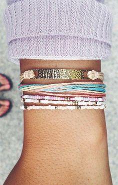 "Use code ""BobbiLaBrant10"" for 10% off your next purchase!   Pura Vida Bracelets"