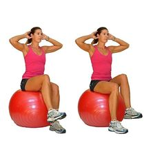 Beginner Ball Workout for Balance, Stability, and Core Strength