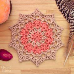 Free Crochet Pattern: Birthday Mandala More