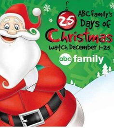 2013 ABC Family 25 Days of Christmas Movie Schedule.