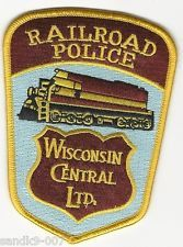 Wisconsin Central Railroad Police Patch