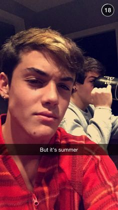 The Dolan Twins Snap Chat