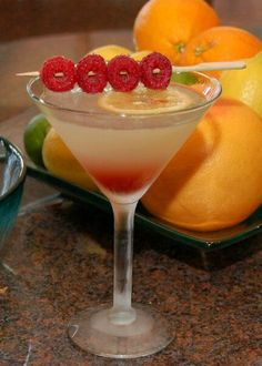 I Love Rasberry Lemon Drop Martinis!!