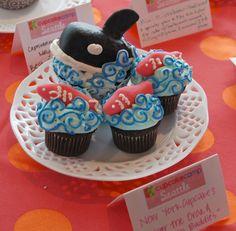 Orca Cupcake | Flickr - Photo Sharing!
