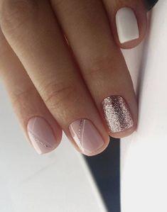 Gel Nail Art, Gel Nails, Short Square Acrylic Nails, Beauty Hacks Nails, Beauty Makeup, Hair Beauty, Nail Tips, Cute Nails, Pedicure